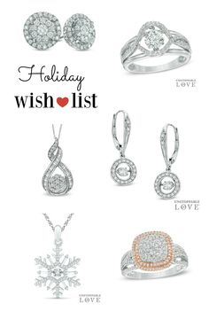 I'm Dreaming of Sparkling Holiday Gifts from Zales