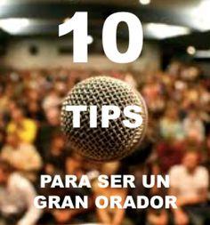 10 Tips de #NeuroCiencias para ser un Gran Orador.