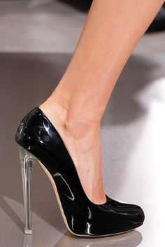 Dior...you can NEVER go wrong with a black patent leather pump! Love these! Definitely #legallyredapproved