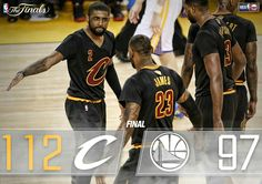LeBron James and Kyrie Irving both score 41 points to keep their season alive. NBA Finals is going to a Game 6.
