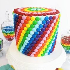 Get Started Decorating: Quick Birthday Cake Ideas Craftsy Class Review/rainbow cake ideas/cakes for kid parties/St. Patrick's Day dessert idea