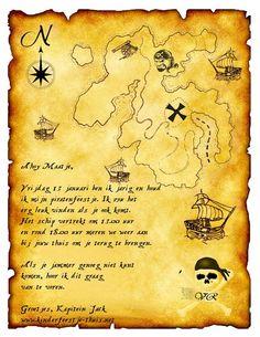 Uitnodiging Piratenfeest