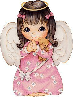 Adorable little angel image!!