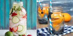 Boire du soda est très mauvais pour la santé. Voici quelques recettes alternatives rafraîchissantes qui vous feront oublier votre addiction aux boissons sucrées. Voss Bottle, Water Bottle, Cocktails, Drinks, Stuff To Do, Mason Jars, Cooking, Addiction, Orange