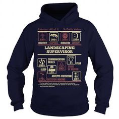 Cool LANDSCAPING SUPERVISOR Shirts & Tees #tee #tshirt #named tshirt #hobbie tshirts # Landscaping