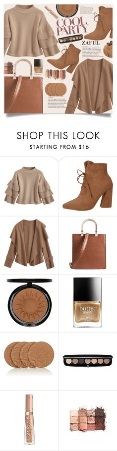"""""""Zaful III/54"""" by lillili25 ❤ liked on Polyvore featuring Iman, Butter London, Deborah Rhodes, Marc Jacobs and tarte"""