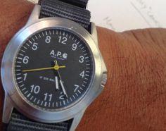 A.P.C. x Carhartt Wristwatch   Teaser