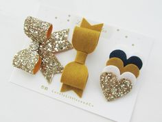 Ideas for baby accessories girl heart Making Hair Bows, Diy Hair Bows, Diy Headband, Baby Headbands, Baby Diy Projects, Diy Accessoires, Barrettes, Hairbows, Baby Hair Clips