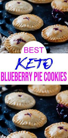 Mini blueberry hand pie cookies are a gr BEST Blueberry Pie Keto Cookies Recipe! Mini blueberry hand pie cookies are a gr BEST Blueberry Pie Keto Cookies Recipe! Mini blueberry hand pie cookies are a gr. Keto Desserts, Dessert Recipes, Appetizer Recipes, Holiday Desserts, Easy Desserts, Biscuits Keto, Cookies Et Biscuits, Flaky Biscuits, Keto Cookies