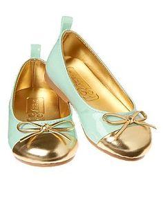 Patent Trim Ballet Flats- crazy 8