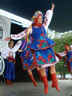 .Variation of folk costume