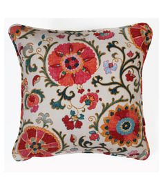 Suzani pillow.