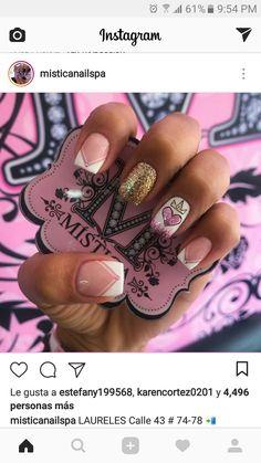 Beauty Nails, Nail Colors, Nail Art Designs, Hair Makeup, Cilantro, Prom, Nice Nails, Nail Art, Nail Ideas