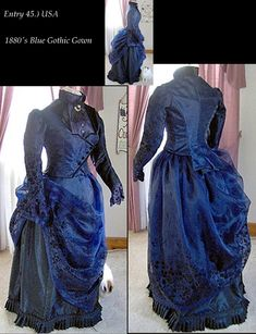 Bustledress.com, article Category: 2010 Best OTHER FREESTYLE Bustle Dress, Victorian Dress- Bustle Dress, Victorian Costume, Vintage Clothing, Vintage Clothes