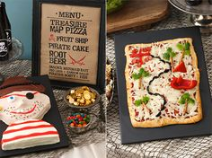 With a watermelon pirate ship and pizza-turned-treasure map, you can bet our easy, kid-approved menu will please every pirate it meets.