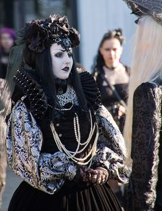 Gothic Girl at WGT 2013
