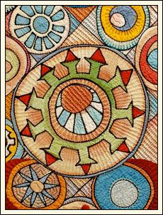 Marianne Burr: Hand Stitched Art