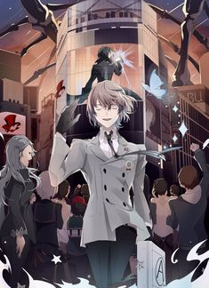 JEN @ P5 💖 (@noreigret) / Twitter Favorite Character, Akira Kurusu, Shin Megami Tensei Persona, Anime, Persona, Persona 5 Anime, Fan Art, Goro Akechi, Cool Drawings