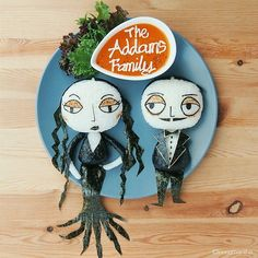 Samantha Lee @leesamantha   Websta (Webstagram) Gomez and Morticia Addams! Love how they express affection...uniquely. (Halloween series 2014)  #leesamantha #halloween