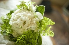 wedding ferns | ... with delicate ferns ~ soft and neutral | The Natural Wedding Company