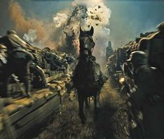 I still cant get enough of this movie... it gives me chills... I think it was more intense and chilling than some horror movies that ive ever seen... and to think that this really happened in WWI with horses... it blows my mind...