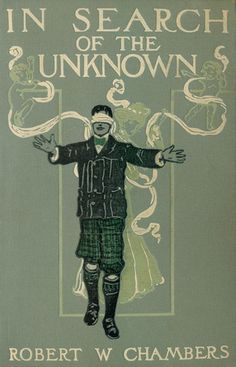 Book cover. In search of the unknown. 1904.