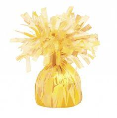 Decorative Metallic Yellow Balloon Weight - Online Balloon Shopping in India