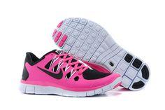 Nike Free Run 5.0 Women Pink black shoes