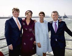 """450 Me gusta, 6 comentarios - Queen Maxima (@queen.maxima) en Instagram: """"28-03-2017 Koning Willem-Alexander en Koningin Maxima met de president van Argentinië Mauricio…"""""""