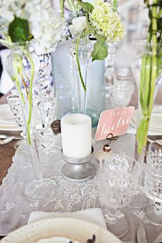 Southern Vintage rental tableware NotWedding Athens Poppy LaRue Photography