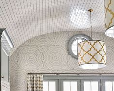 Atlanta Kitchen with a Soaring Ceiling | Traditional Home Ceiling Tiles, Ceiling Beams, Interior Inspiration, Kitchen Inspiration, Kitchen Ideas, New England Style, Inspirational Wallpapers, Built In Bookcase, Ship Lap Walls