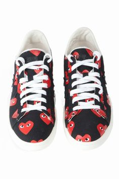 c028e47b1d5c The coveted Comme des Garçons PLAY x Converse collaboration is back! This  time around