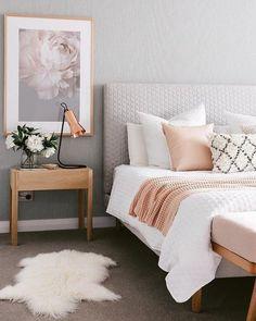 Bedroom design ideas,bedroom decor ideas,grey and pink bedroom