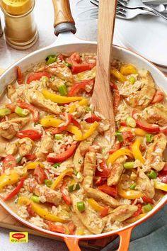 Reispfanne mit Gemüse - Food and Drink Paleo Meal Plan, Paleo Diet, Meal Prep, Paleo Recipes, Dinner Recipes, Le Diner, Snack, Eating Habits, Meal Planning