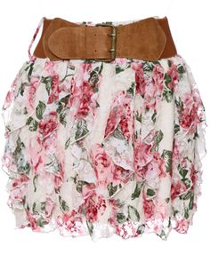 rue21 : VETRICAL BELTED PRNT LACE