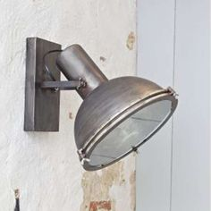 Vintage Wandlampe Wandleuchte SPOTLIGHT Lampe Metall