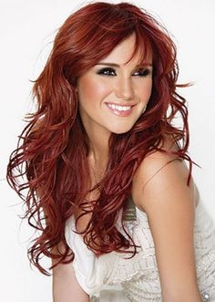 auburn hair color highlights ideas with pictures to see | allfashionweek