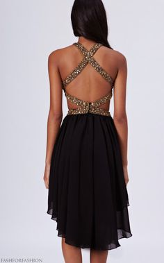 #love the back of this dress!  bags and rags #2dayslook #bagsstyle #bagsfashion  www.2dayslook.com