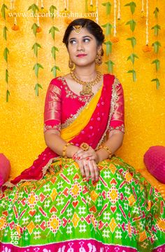 Silk Saree Kanchipuram, Ikkat Silk Sarees, Soft Silk Sarees, Half Saree Lehenga, Kids Lehenga, Kids Blouse Designs, Blouse Designs Silk, Half Saree Designs, Lehenga Designs
