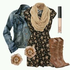 Lovin this casual country look.
