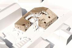Площадь будущего детсада составит 1600 кв. м., в которые войдет и игровая площадка, прилегающая к зданию.