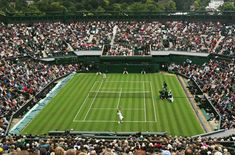 The first Wimbledon tennis championship took place at the All England Lawn Tennis and Croquet Club in Wimbledon (London) in 1877.   This has evolved to become the most prestigious tennis event in the entire world. The only event at the first game was the men's singles. Women weren't permitted to play until 1884.    Wimbledon history is rich with fascinating tales of bygone years, the players, and the evolution of the modern facilities.