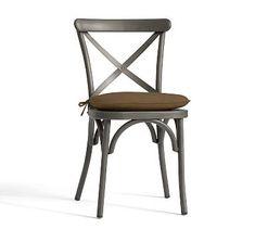 Bistro Chair Cushion, Sunbrella(R) Mocha