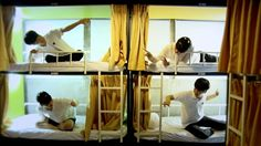 【Video Tour】 Calli Hostel (캘리 호스텔) in Busan, South Korea