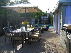 curtains - Transitional | Outdoors | David Bromstad : Designer Portfolio : HGTV - Home & Garden Television