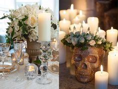 A Gold and White Alexander McQueen Styled Bridal Shoot by Hawke & Hughes | OMG I'm Getting Married UK Wedding BlogUK Wedding Design and Insp...