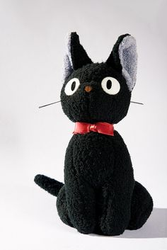 Japanese Room: Jiji / Kiki's Delivery Service plush toy by Max Mayorov
