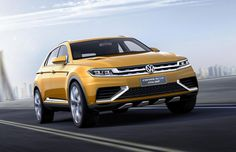 Volkswagen has now unveiled the new CrossBlue Coupe Concept at the 2013 Shanghai Auto Show, giving hints at the future and at a new era of SUV design. The CrossBlue Coupe has a plug-in hybrid powertrain that is as fuel-efficient as it is sporty. #VolkswagenCars #VolkswagenCrossBlueCoupe