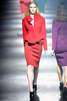 Lanvin Fall 2012 Ready-to-Wear Fashion Show - Zuzanna Bijoch (Next)