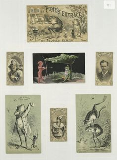 Frog trade cards